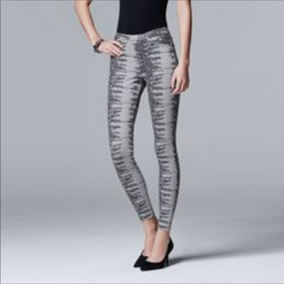 e9dad84ab8938 NWOT Simply Vera Wang Lizard print Leggings Size M.  M_5b0c4ea136b9deca0c2dfa25